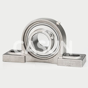 Stainless steel with spherical bearings