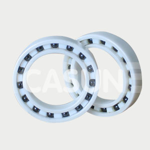 Stainless steel ceramic hybrid bearings